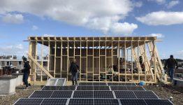 dakopbouw Den Haag gestart met uitvoering